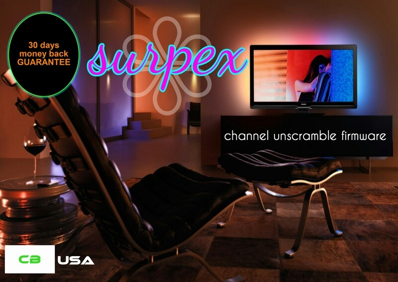 SURPEX Channel Unscramble Firmware LITE