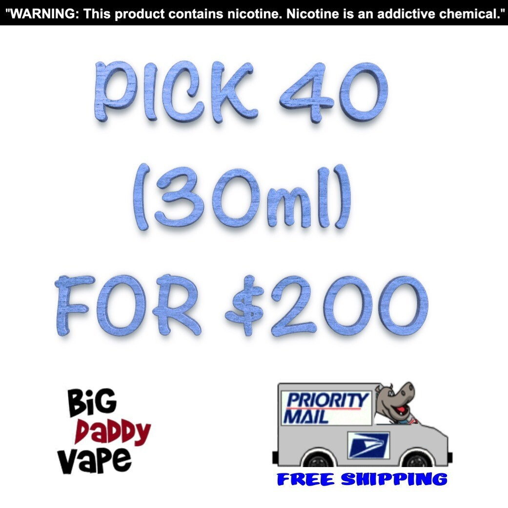 Pick any (40) 30ml for $200