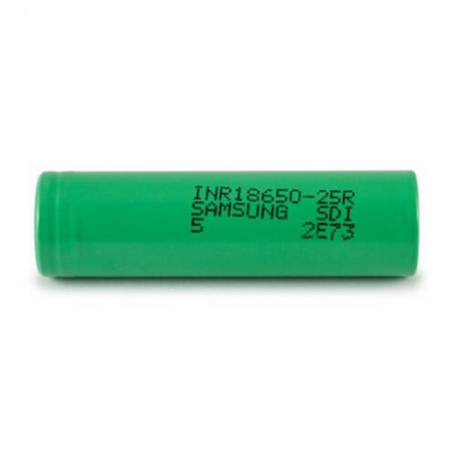SAMSUNG 18650 25R INR 2500maH 3.7V Battery