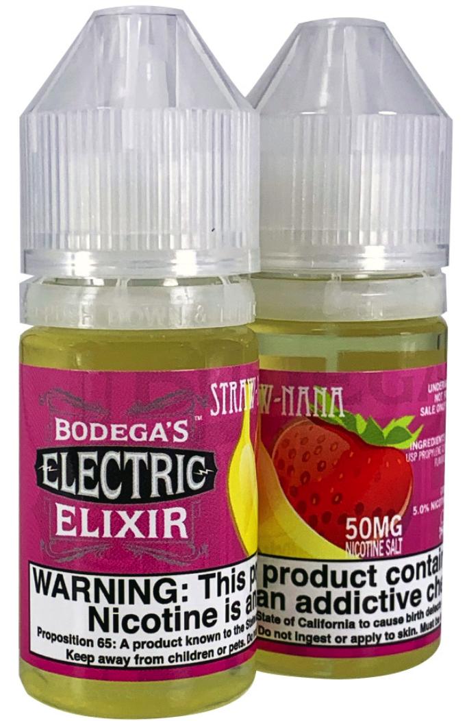 Bodega's Straw Nanna – Nicotine Salt