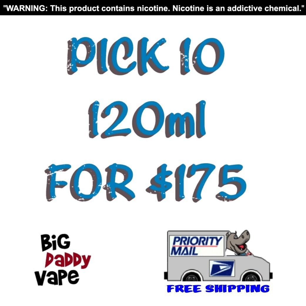 (10) 120ml for $175