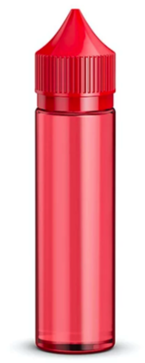 CHUBBY GORILLA - 60ML UNICORN BOTTLE - RED BOTTLE / RED CAP