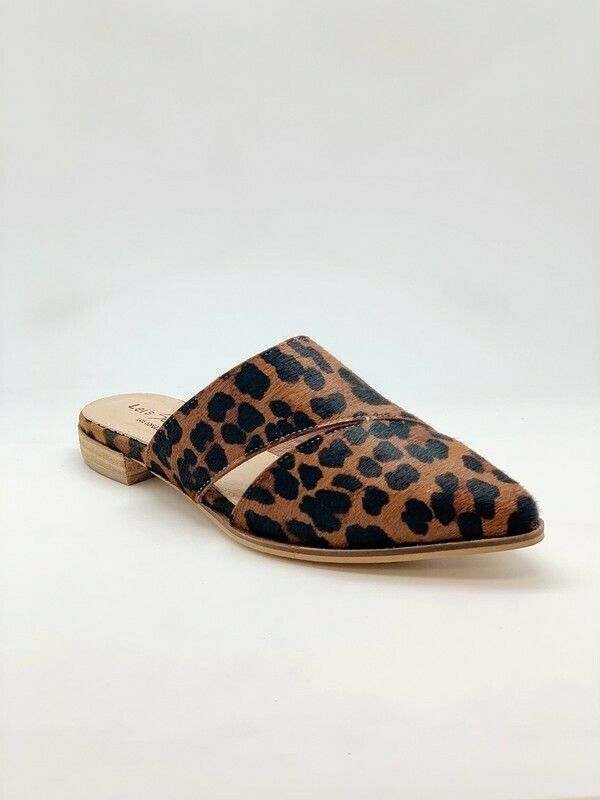 Dying to Wear you Leopard Mule