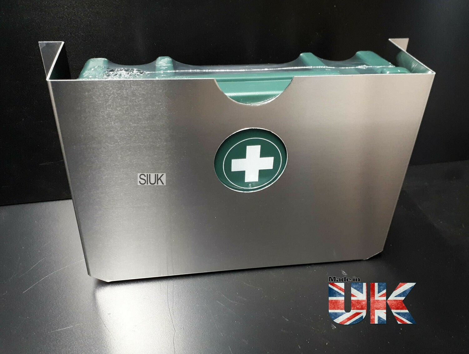 First Aid Kit & Wall Mount for Van, Workshop Etc
