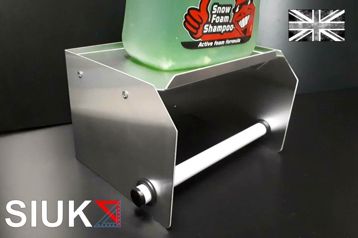 Roll Feed Paper Towel Holder with Integral Shelf
