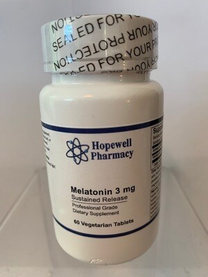 Melatonin 3mg SR #60 vegetarian tabs