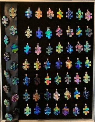 Puzzle piece pendant