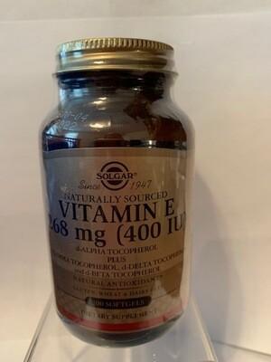 Vitamin E 268mg (400IU) #100 softgels