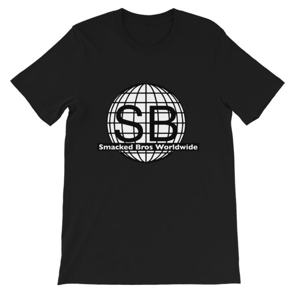 Smacked Bros First Gen Logo Black Tee