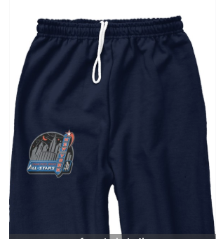 Smacked All Star-Sweat Pants in Navy