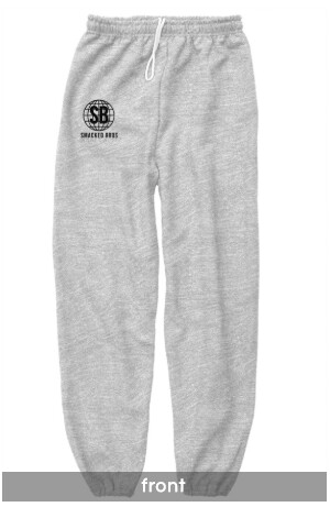 Smacked Sweatpants in Gray