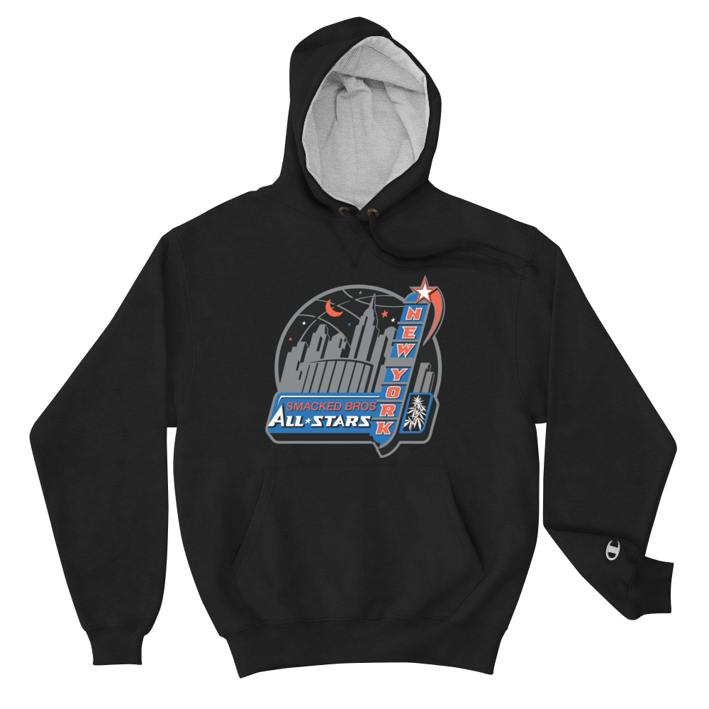 Navy Smacked All Stars Champion Hoodie