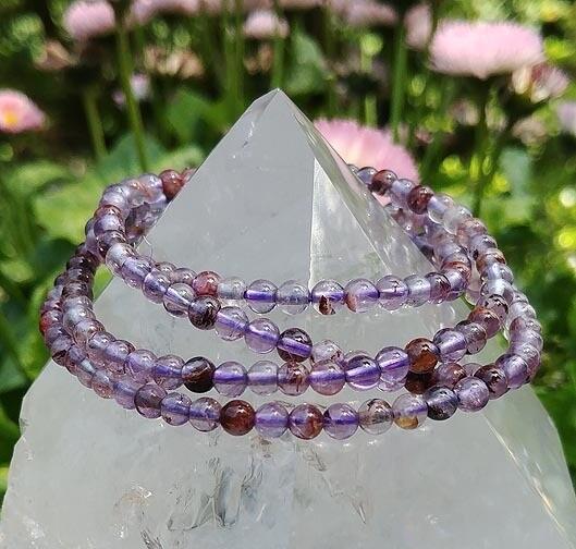 Cacoxenite Ascension Stone Bracelet