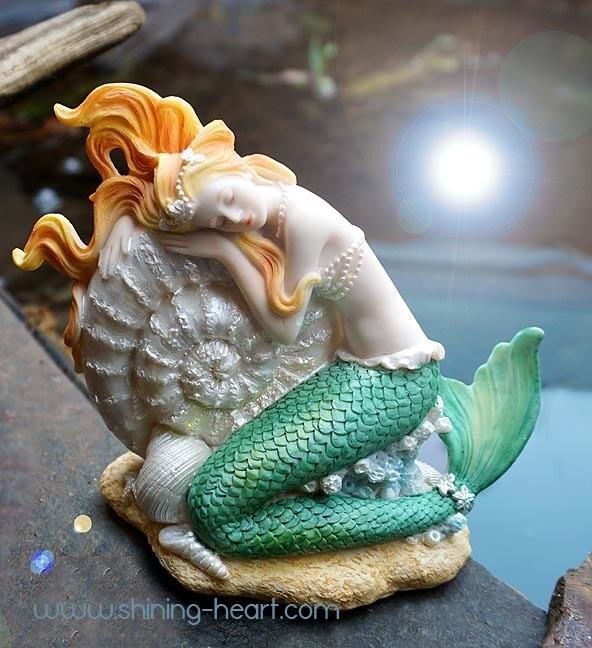 Dreaming Mermaid Figurine CLEARANCE