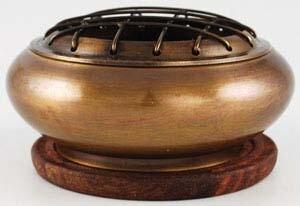 Brass Incense Burner Kit