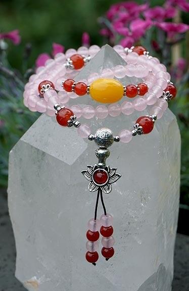 Rose Quartz Prayer Beads