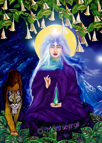 Altar Cards: Kuan Yin