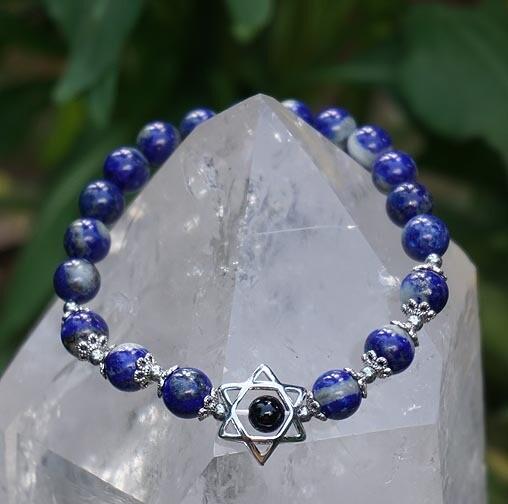 Merkaba Bracelets in Lapis