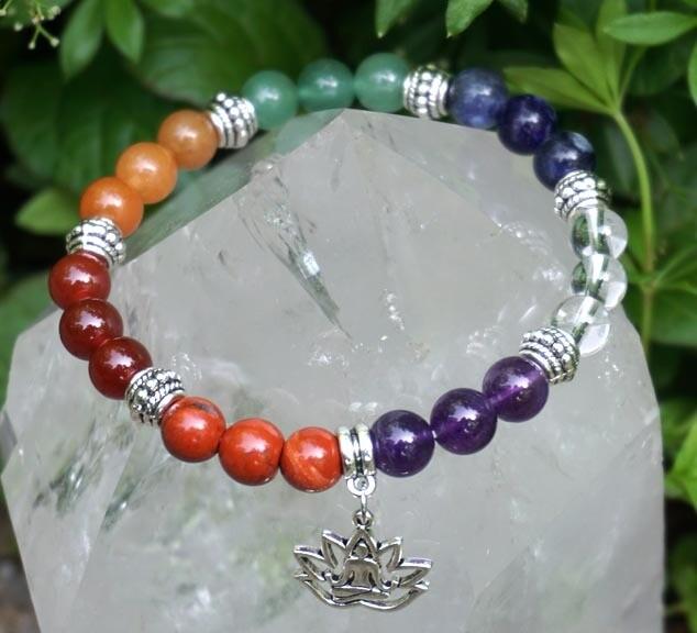 Rainbow Yoga Bracelet