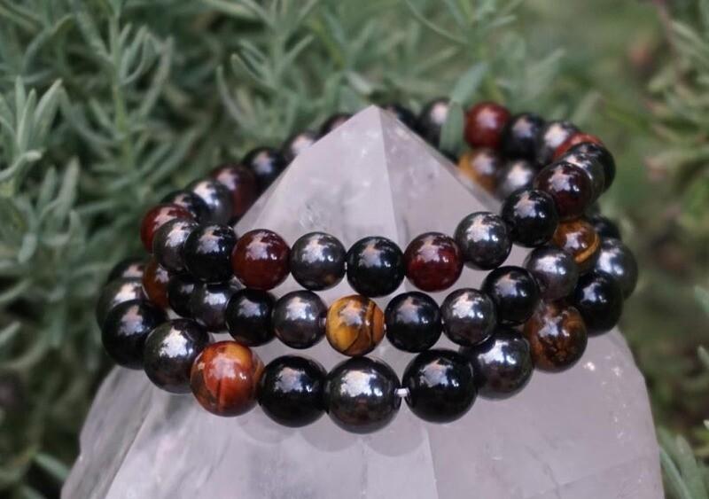 Three Gemstone  Bracelets