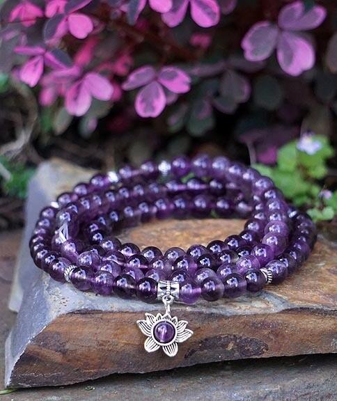 Lotus 108 Prayer Beads