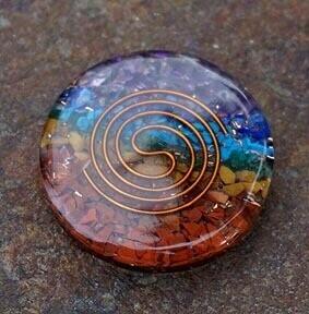 Orgone  Chakra Disks