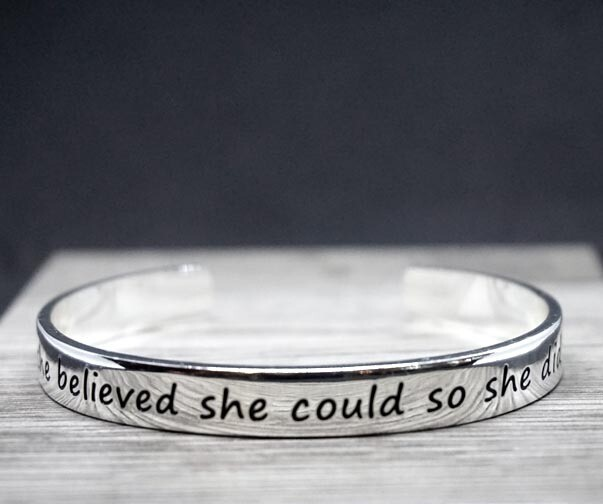 Empowering Quotes Bracelets