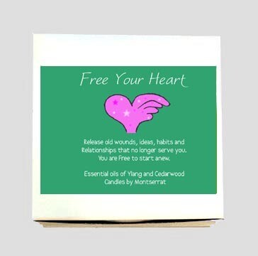 Free Your Heart Votives