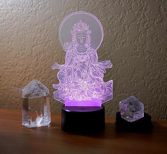 Kuan Yin Lamp