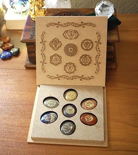 Chakra Sanskrit Set in box