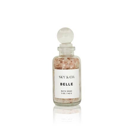 Belle Bath Salt Soak- 5oz