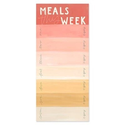 Meals This Week Magnetic Notepad