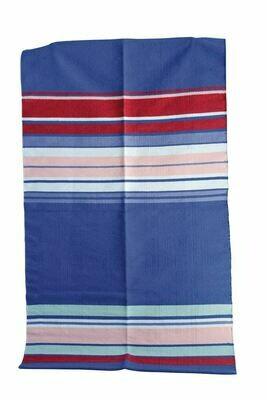 Colorful Cotton Stripe Rug