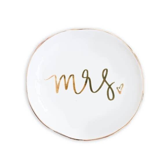 Mrs. Jewelry Dish- Sweet Water Decor