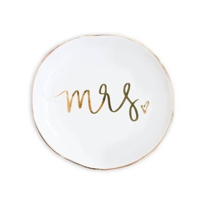 Mrs. Jewelry Dish- Sweet Water Decor