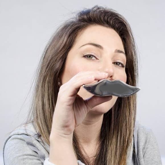 Mustache Pocket Flask- Sagaform