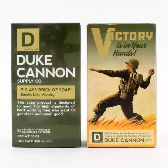 Scent Of Victory Big Ass Brick Of Soap- Duke Cannon