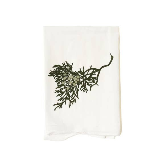 Flour Sack Towel-Junipers