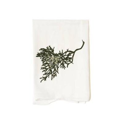 Flour Sack Towel-Junipers