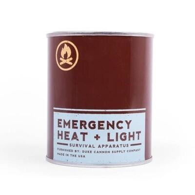 Emergency Heat & Light- Leaf & Leather