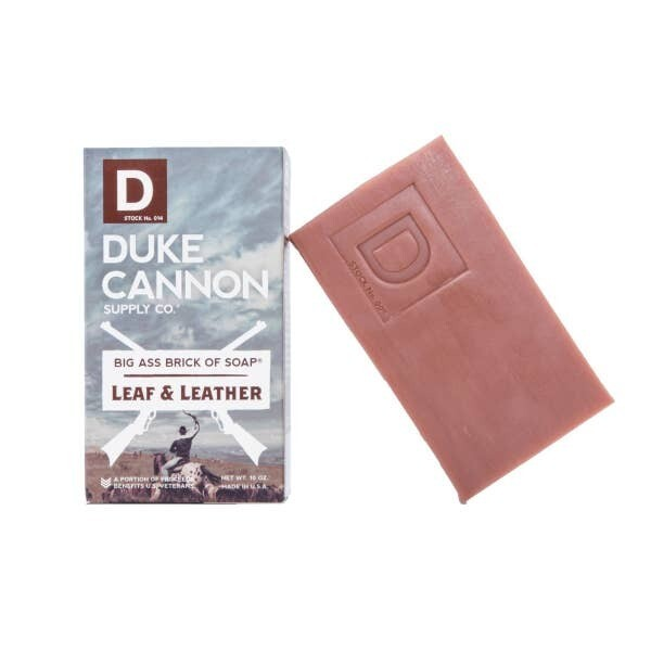 Scent Of Leaf & Leather Big Ass Brick Of Soap- Duke Cannon