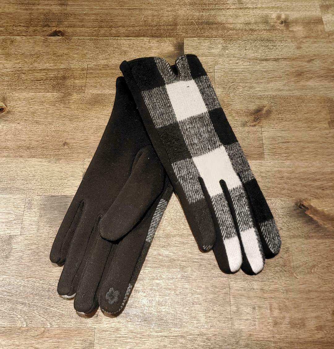 Gloves- White Buffalo Check