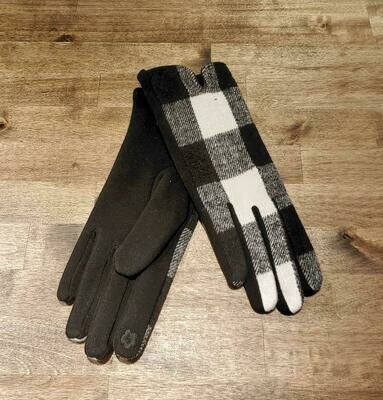 Gloves- White Buffalo Check