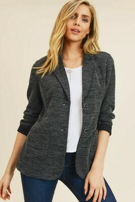 Double Pocket Sweater Jacket- Doe & Rae