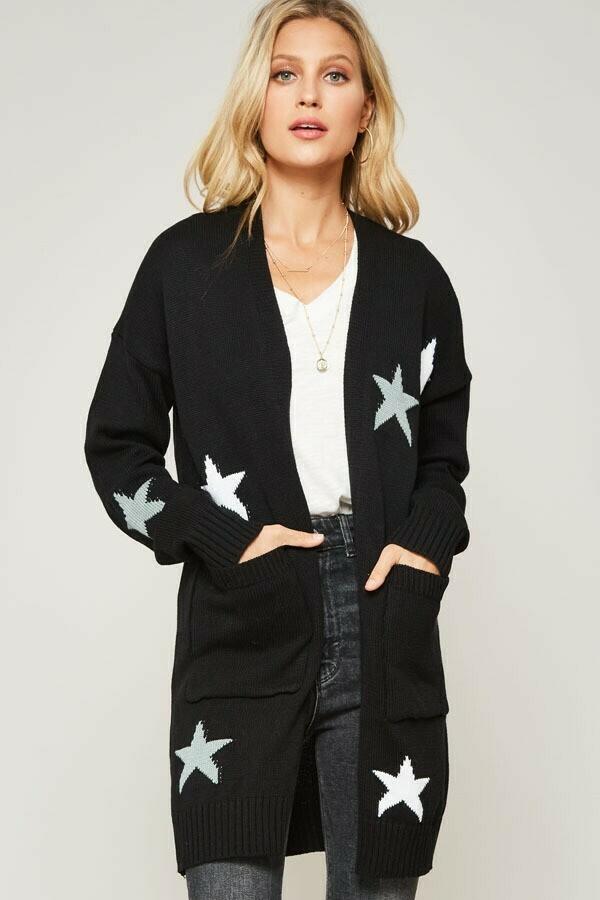 Knit Starry Cardigan- Promesa