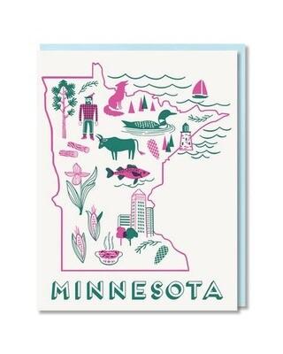 Minnesota State Love Box Card Set