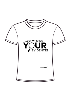 ...But where's your evidence?