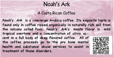 Noah's Ark Coffee
