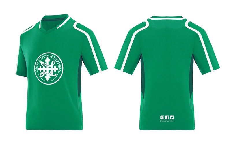 Franela Manga Corta Deportiva Verde