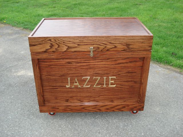 Tack Trunk Front View